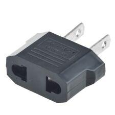 1 pcs EU Euro Europe to US USA Power Jack Wall Plug Converter Travel Adapter