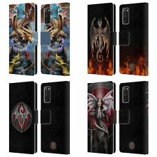 OFFICIAL ANNE STOKES DRAGONS 4 LEATHER BOOK CASE FOR SAMSUNG PHONES 1