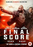 FINAL SCORE [DVD] ACTION MOVIE DAVE BAUTISTA RAY STEVENSON NEW SEALED