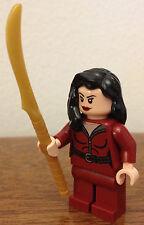 LEGO Batman minifigure Talia al Ghul (from set #76056)