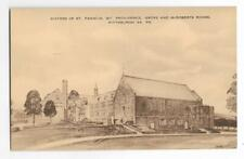 SEPIA~SISTERS OF ST FRANCIS,MT PROVIDENCE,GROVE & McROBERTS ROADS~PITTSBURGH,PA