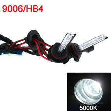 HID 2x Bolt AC Bulb Set Xenon Light 9006 HB4 Pure White Nice 5000K Headlight CL