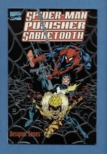 Marvel Comics SPIDERMAN PUNISHER SABERTOOTH in DESIGNER GENES Graphic Novel