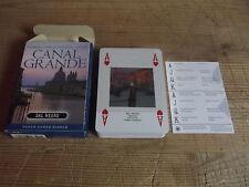 VENEZIA CANAL GRANDE-CARTE DA GIOCO-55 CARTE POKER BORDO BIANCO-DAL NEGRO---B12