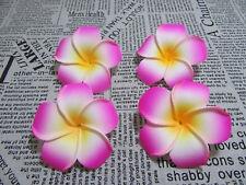 30 New Pink Fabulous Foam Frangipani Flower 8x3.5cm