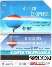 SCHEDA TELEFONICA - TELECOM -Se ti gira di cambiare - Scad. 12/96 - Lire 10.000