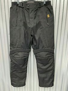 Frank Thomas Motorcycle Cross Country Pants Hyper Tec Black Plus liner Large