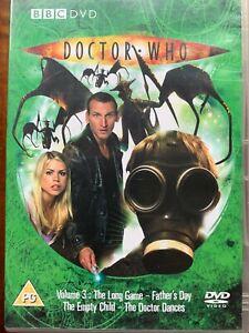 Doctor Who Volume 3 DVD 2005 Christopher Eccleston BBC Sci-Fi Series