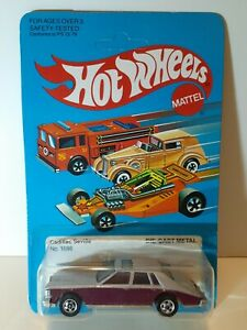 Hot Wheels Vintage 1982 Cadillac Seville #1698 Unpunched
