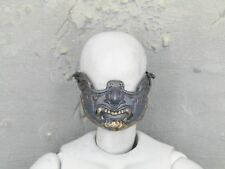 1/6 Scale Toy Female Butterfly Samurai - Metal Lower Face Mask (Blue)