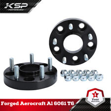 2x25mm 5x4.5(5x114.3mm) Hub centric Wheel Spacers M12X1.25 66.1mm For Nissan