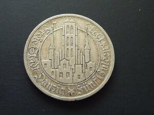 Danzig, 5 Gulden ,Freie Stadt Danzig,1923, ss-vz, Originalmünze, J.D 9