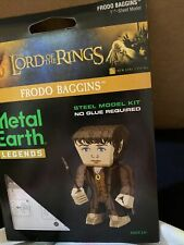 Fascinations Metal Earth Legends Lord of The Rings Frodo Baggins 3D Model Kit
