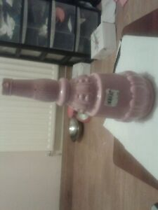 Pink single stem vase