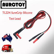 Fluke TL224 15B 17b  Multimeter extention Silicon test leads Probe  AU seller