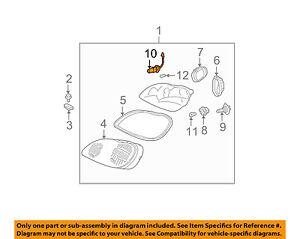 Mercedes MERCEDES-BENZ OEM 00-03 CLK320-Foglight Fog Light Bulb 000000000268