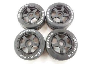 DBOOTS HOONS: Arrma INFRACTION Edition 6s BLX Street Truck Tires 17mm Hex Wheels