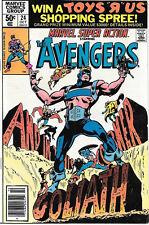 Marvel Super Action Comic Book #24 The Avengers 1980 FINE+