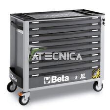Carrello lungo Beta C24SA-XL 9/G cassetti grigio con sistema antiribaltamento