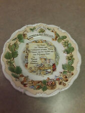 Royal Doulton Honey and Nut Biscuits Recipe Plate