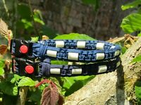 EM Bead Paracord Dog Collars (Anti-Tick  Properties). Made to your requirement.