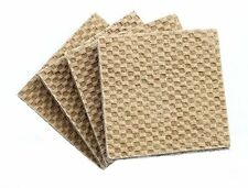 Heavy Duty Thick n Slip No Skid Rubber Furniture Flo Pads Protectors Set of