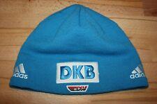DSV Adidas DKB Mütze Skimütze Rennmütze Wintermütze Strickmütze Beanie Blau L XL