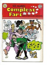The Compleat Fart and Other Body Emissions Lee Marrs Stories/Art 36 pages 1977