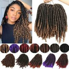 Ombre Kinky Afro Synthetic Spring Passion Twist Crochet Braiding Hair Extensions