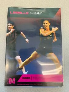 Les Mills SHBAM 4 DVD, CD, NOTES sh bam sh'bam