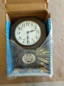 Westclox Wall Clock Brown 26261