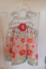 NWT BONNIE JEAN FLORAL DRESS SZ 2 T  FULLY LINED VERY NICE