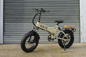 MATE X Electric Bike / Beige / 14Ah / 750W / Free Delivery + 1Yr Warranty