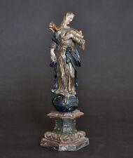 """Maria Immaculata"", ca. 1750, Lindenholz, alte Fassung, Sammlerstück, 33 cm"