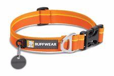 Ruffwear Hoopie Dog Collar 25203/835 Orange Sunset NEW