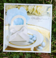150 Wedding Favor Kits ~ 3 Boxes (50 each), Ribbons, Seals, etc. NEW