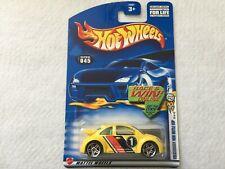 Volkswagen New Beetle Cup  Collector #045 Hot Wheels