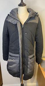Ripcurl Ski Jacket Charcoal Grey Anti Wind Rain Cold Longline Size 10