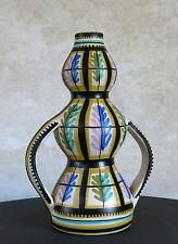 KERALUC QUIMPER, très belle céramique, vase, keraluc, E inversé, KERALUC .