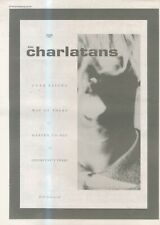 """(ANEW11) ADVERT 15X11"""" THE CHARLATANS : OVERISING"""