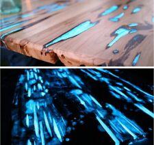 Luminous Phosphor Powder Glow In The Dark Pigment Light Blue Sky 100g