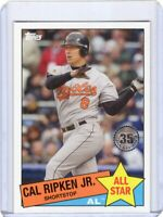 2020 TOPPS  BASEBALL CARD # 85AS-4- HOF CAL RIPKEN JR. - BALTIMORE ORIOLES