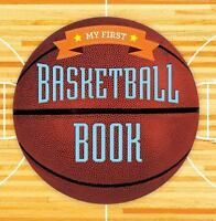 My First Basketball Book (First Sports)-ExLibrary
