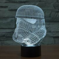 Stormtrooper Illusion LED Lamp 3D Light Experience - 7 Colors Options
