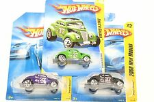 (3) Clay Smith Cams 1:64 #25 / 196 Diecast Hot Wheels Pass'n Gasser Mooneyes