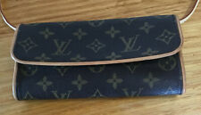 Louis Vuitton Authentic Monogram Pouchette Clutch w/ Shoulder Strap Pre-Owned