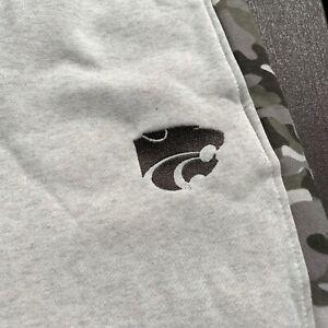 NEW Kansas State Wildcats Sweatpants Adult XL Extra Large Fleece OHT Men