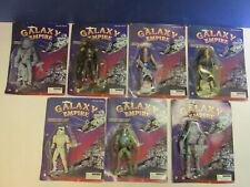 7 BOOTLEG star wars GALAXY EMPIRE set ACTION FIGURE 1997 CHINA carded KNOCK OFF