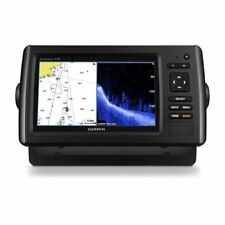 Garmin echoMap Chirp 74cv U.S. BlueChart g2 Maps with Transducer 010-01801-01