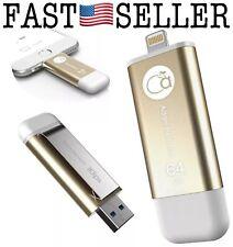 iKlips 64GB iPhone Lightning/USB 3.1 Dual-Interface iOS Flash Drive - NEW! FAST!